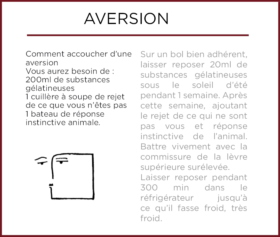 Emothiomorphisme-Aversion