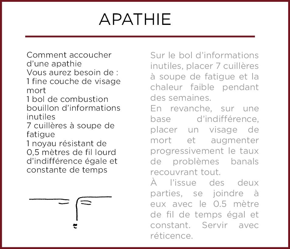 Emothiomorphisme-Apatia