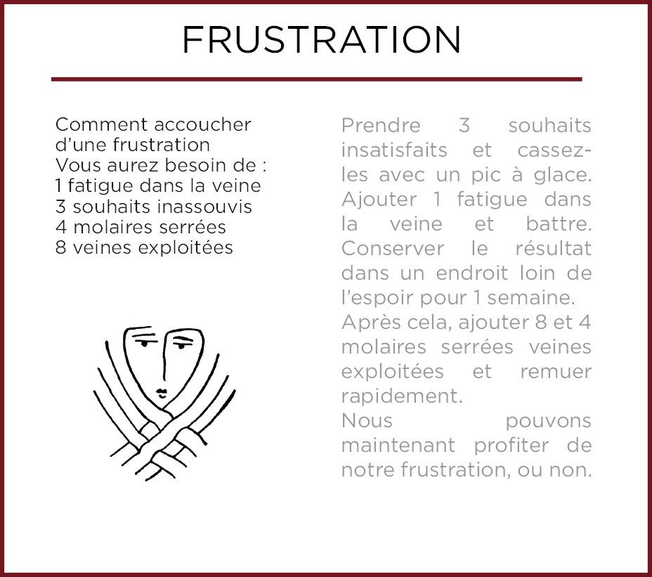 Emothiomorphisme-Frustracion