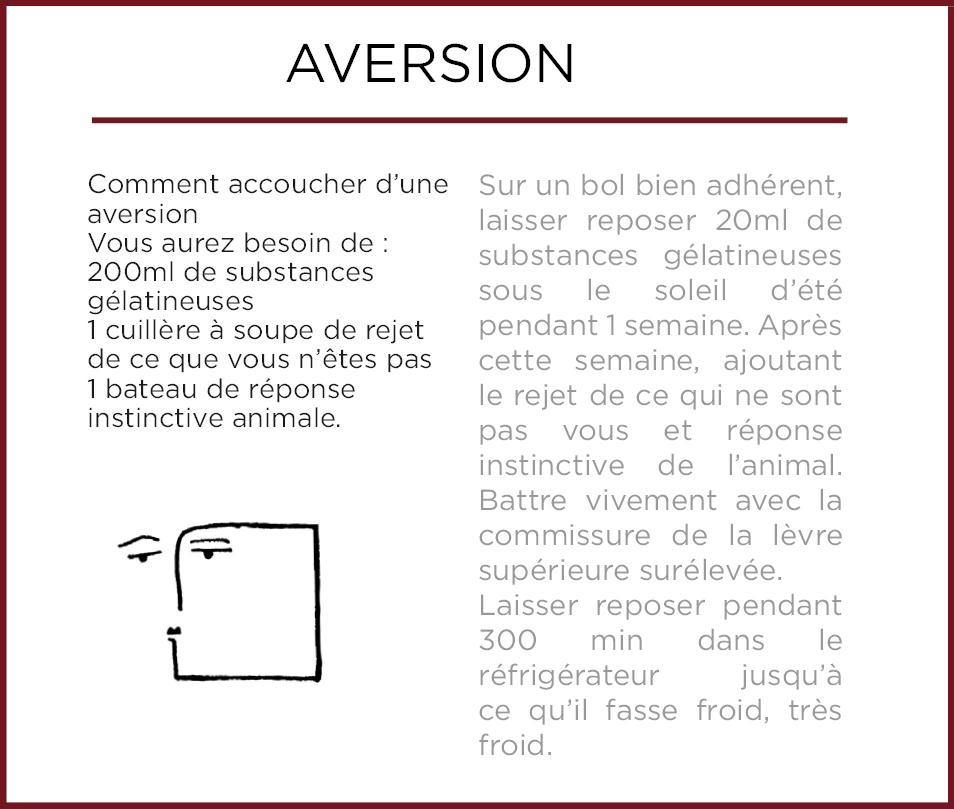 Emothiomorphisme-Aversion
