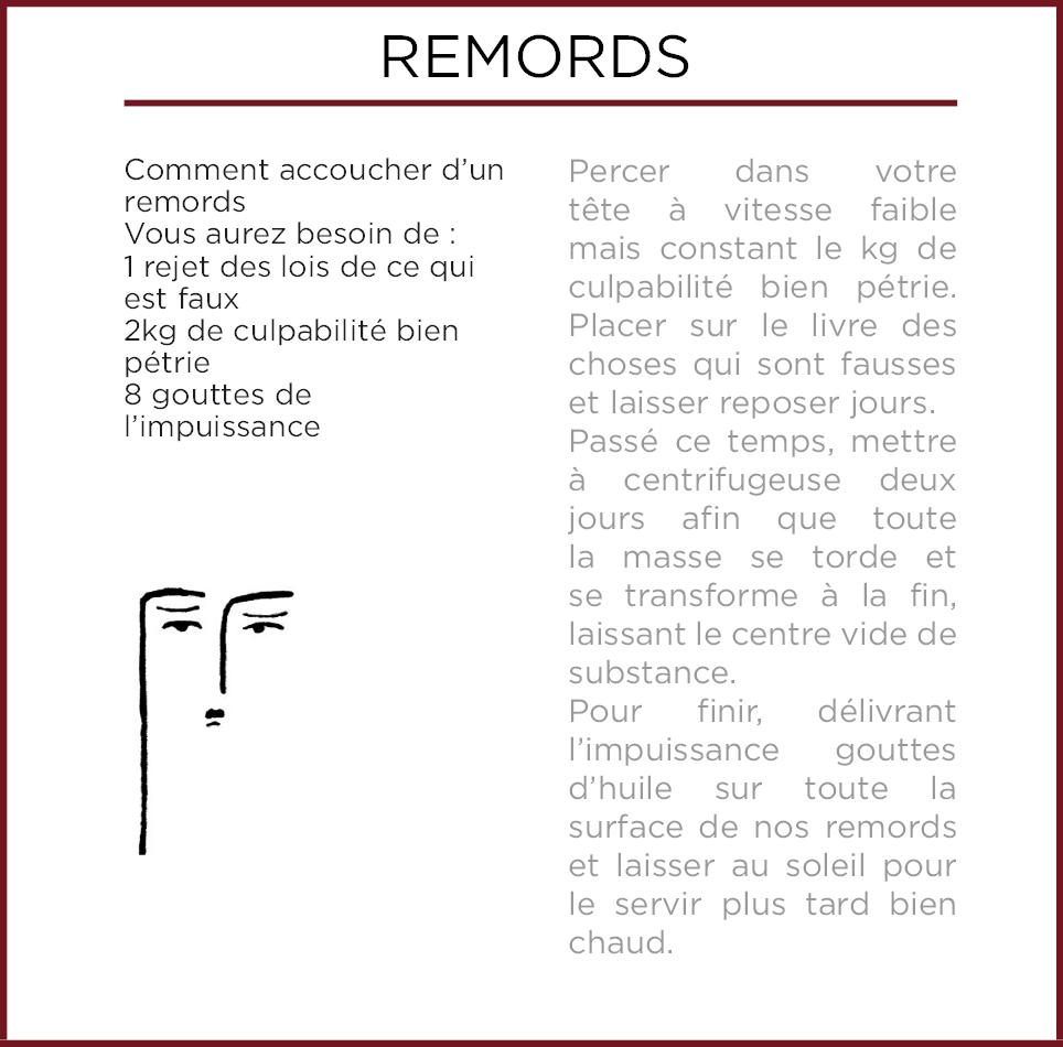 Emothiomorphisme-Remordimientos